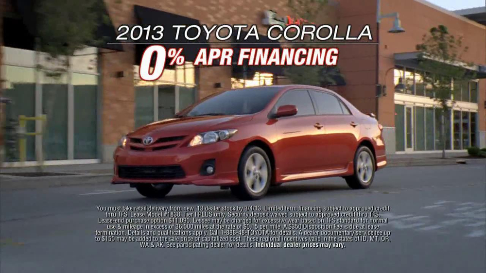2013 Toyota Corolla TV Commercial, 'Look at That Toyota' - iSpot.tv