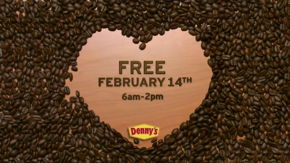 Denny's TV Spot 'Valentine's Day Coffee' - Screenshot 8