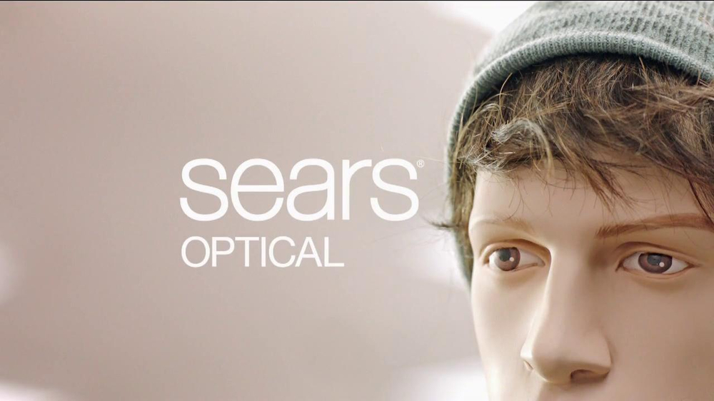 Sears Optical TV Spot, 'That's a Mannequin' - Screenshot 7