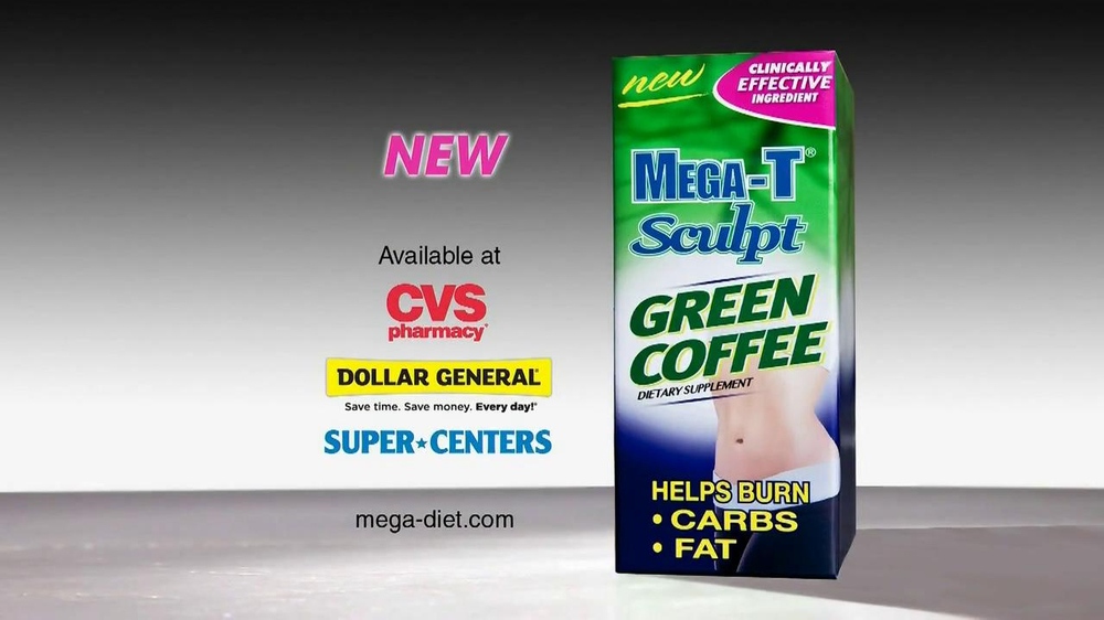 Mega-T Sculpt Green Coffee TV Spot, 'Great News' - Screenshot 6