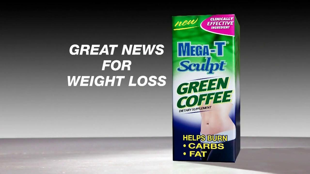 Mega-T Sculpt Green Coffee TV Spot, 'Great News' - Screenshot 1