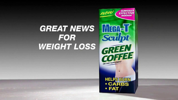 Mega-T Sculpt Green Coffee TV Spot, 'Great News' - Thumbnail 1