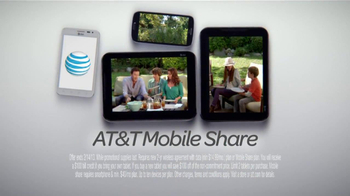 AT&T Mobile Share TV Spot, 'Share On All Devices' - Thumbnail 7