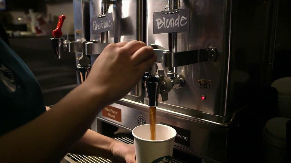 Starbucks Blonde Roast TV Spot, 'Barista's Father' - Screenshot 4