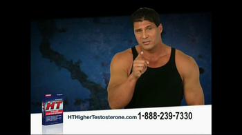 HT Higher Testosterone  TV Spot Featuring Joe Canseco