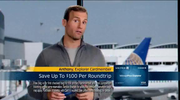 United MileagePlus Explorer Chase Card TV Spot, 'Put Everything On It'