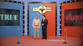 Credit Karma TV Spot, 'True or False' thumbnail