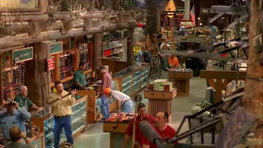 Bass pro shops tv spot 39 more than a store 39 featuring for Major league fishing shop