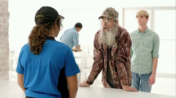Zaxby's Spicy Honey BBQ Boneless Wings Meal TV Spot, 'Hey' Ft. Si Robertson