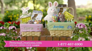 Personal Creations All-in-One Easter Basket TV Spot, 'This Easter'