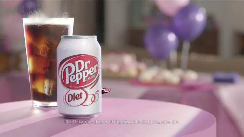 Diet dr pepper tv spot lil sweet birthday featuring justin