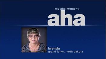 Mutual of Omaha TV Spot, 'Brenda's Aha Moment'