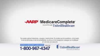UnitedHealthcare TV Spot, 'AARP Medicare Complete' [Spanish]