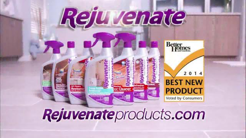 Rejuvenate Soap Scum Remover TV Spot, 'Spray and Rinse' - Screenshot 6