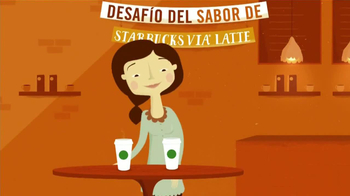 Starbucks Via Latte TV Spot [Spanish]