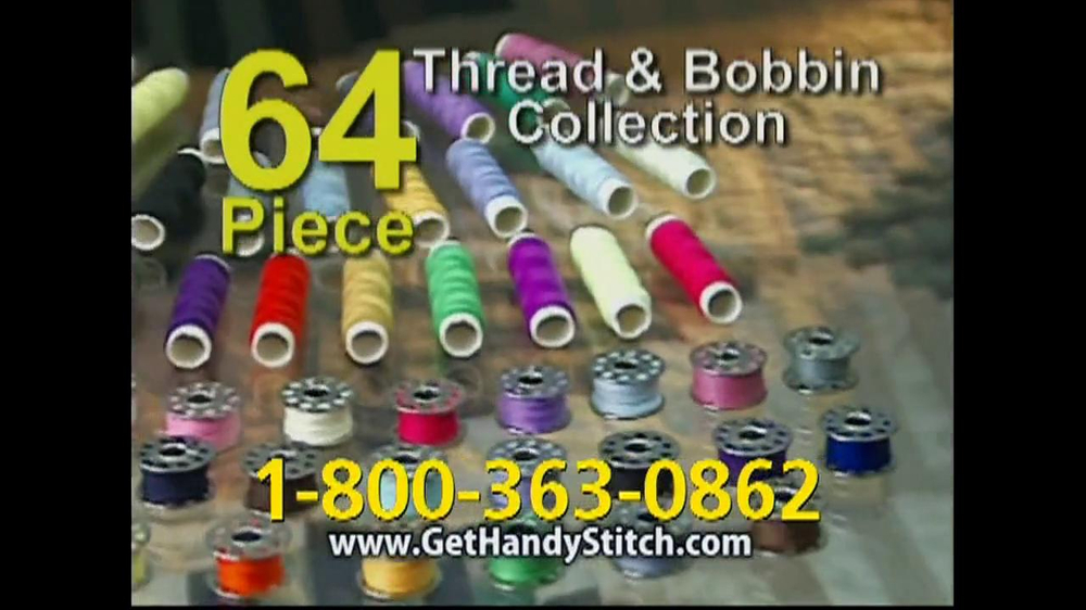 Handy Stitch TV Spot Featuring Marybeth Hoyt - Screenshot 9