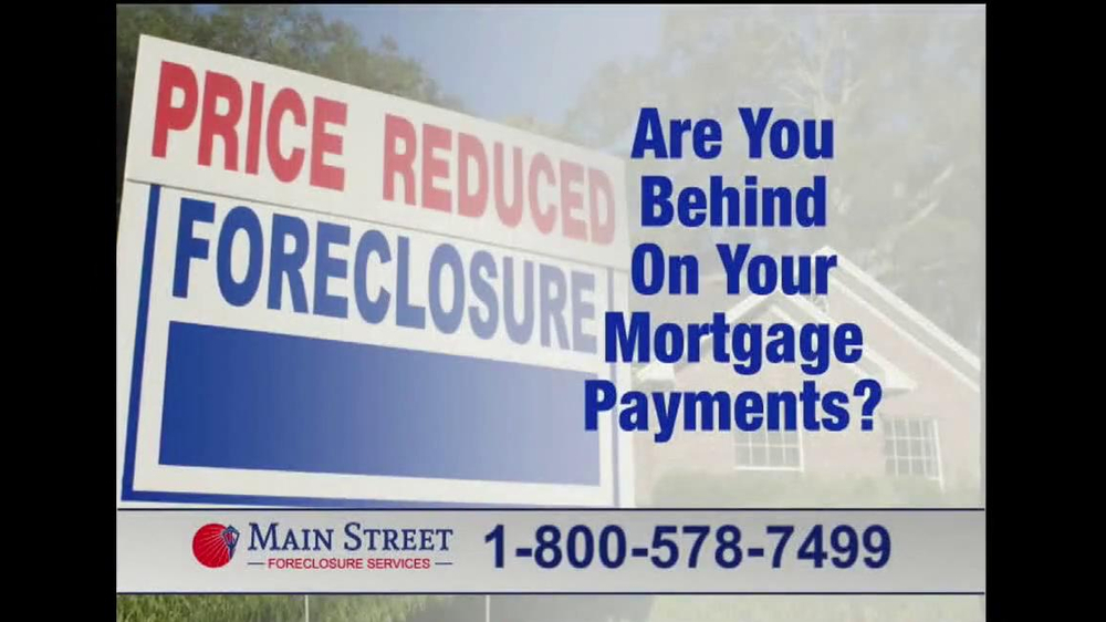 Main Street Foreclosure Services TV Spot - Screenshot 1