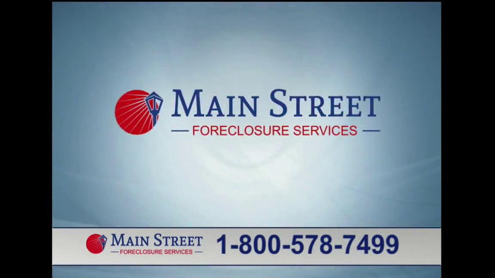 Main Street Foreclosure Services TV Spot - Screenshot 3