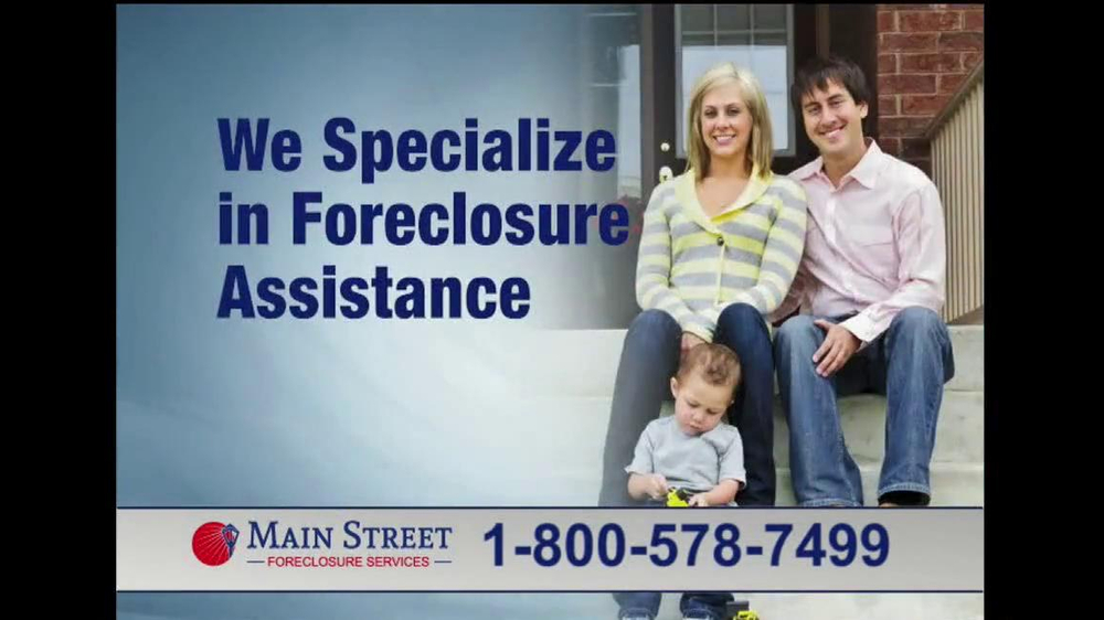 Main Street Foreclosure Services TV Spot - Screenshot 4
