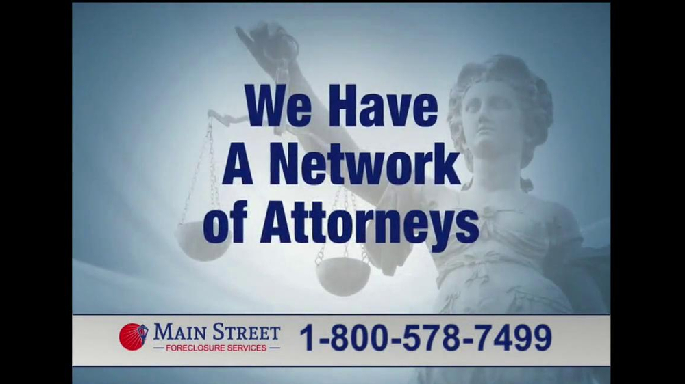 Main Street Foreclosure Services TV Spot - Screenshot 6