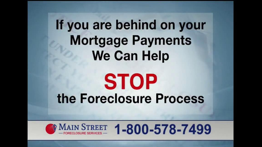 Main Street Foreclosure Services TV Spot - Screenshot 7