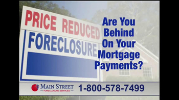 Main Street Foreclosure Services TV Spot - Thumbnail 1