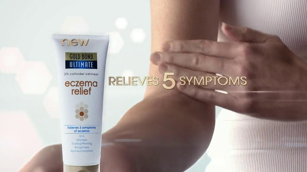 Gold Bond Eczema Relief TV Spot, 'Itching & Scratching' - Screenshot 7