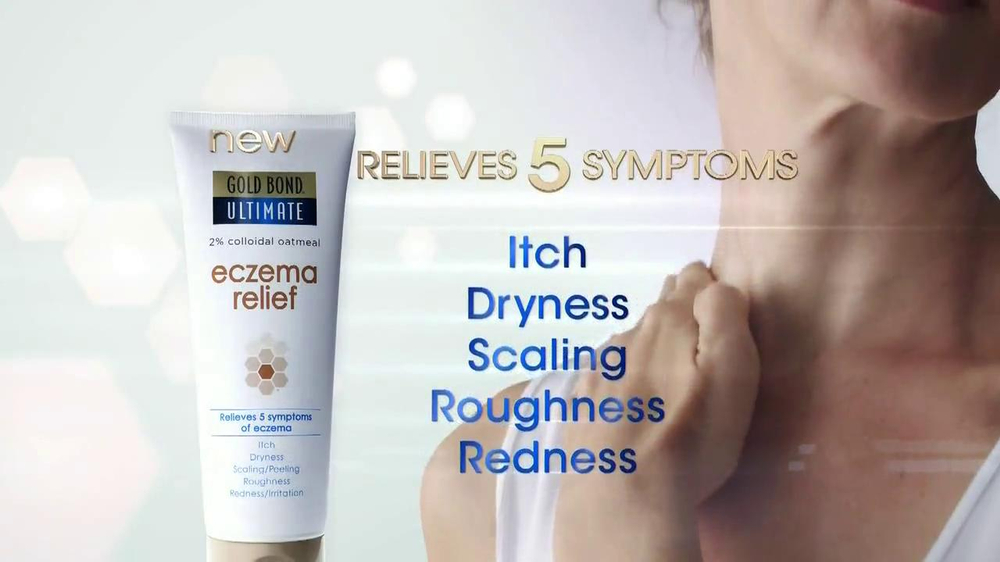 Gold Bond Eczema Relief TV Spot, 'Itching & Scratching' - Screenshot 6