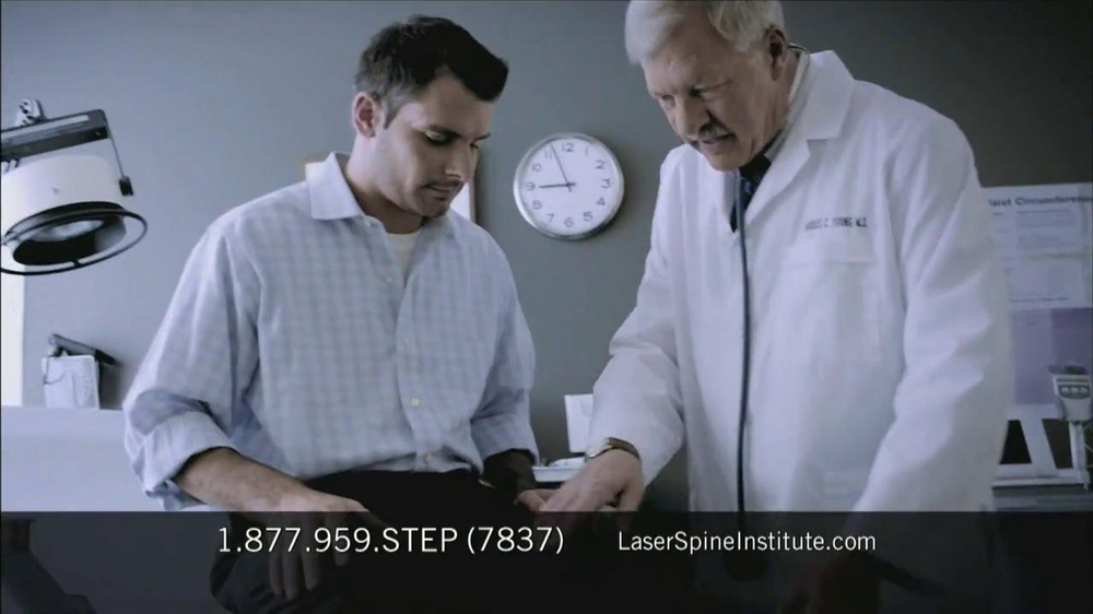 Laser Spine Institute TV Spot, 'First Step' - Screenshot 7