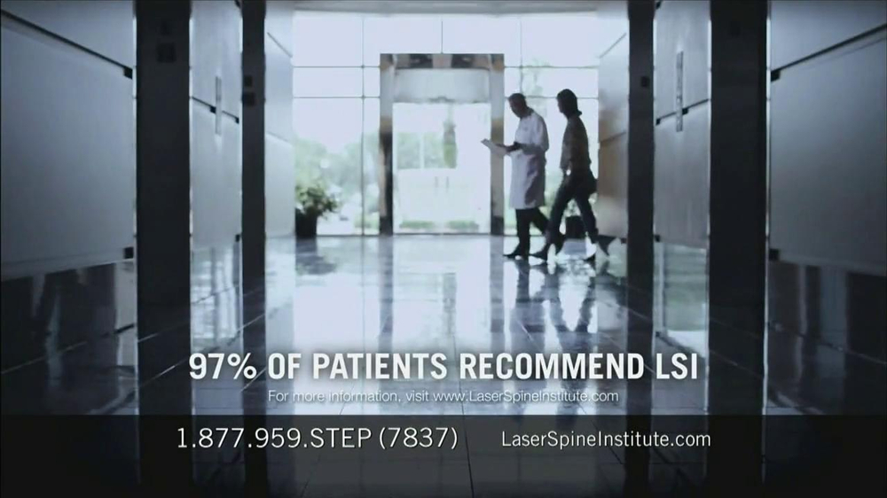 Laser Spine Institute TV Spot, 'First Step' - Screenshot 8