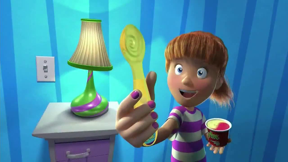 Trix Yogurt TV Spot, 'Light Up Spoons' - Screenshot 2