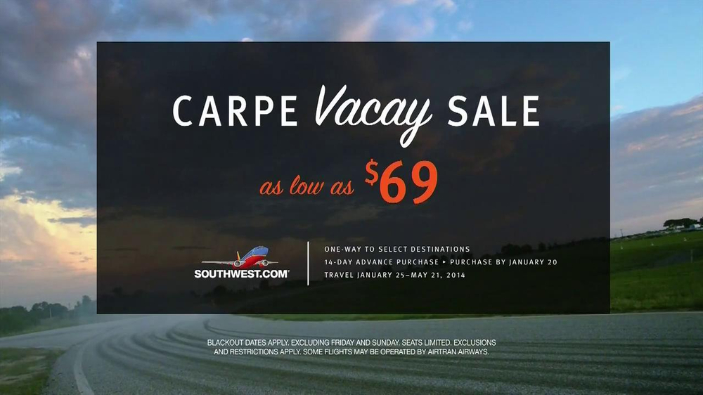 Southwest Airlines TV Spot, 'Carpe Vacay' - Screenshot 10