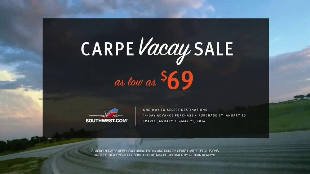 Southwest Airlines TV Spot, 'Carpe Vacay' - Screenshot 7