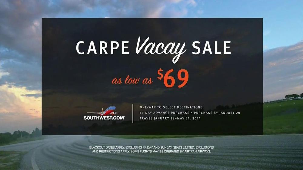 Southwest Airlines TV Spot, 'Carpe Vacay' - Screenshot 9