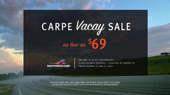 Southwest Airlines TV Spot, 'Carpe Vacay' - Thumbnail 10
