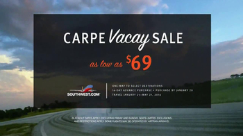 Southwest Airlines TV Spot, 'Carpe Vacay' - Thumbnail 7