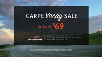Southwest Airlines TV Spot, 'Carpe Vacay' - Thumbnail 8