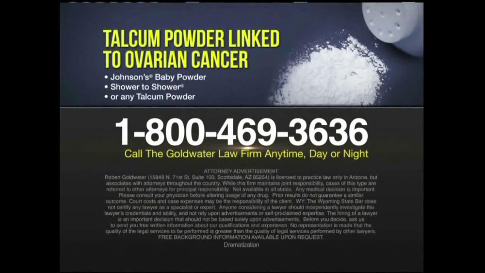 Goldwater Law Firm TV Spot, 'Ovarian Cancer' - Screenshot 10
