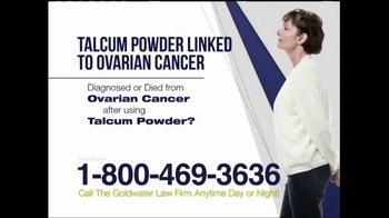 Goldwater Law Firm TV Spot, 'Ovarian Cancer' - Thumbnail 8