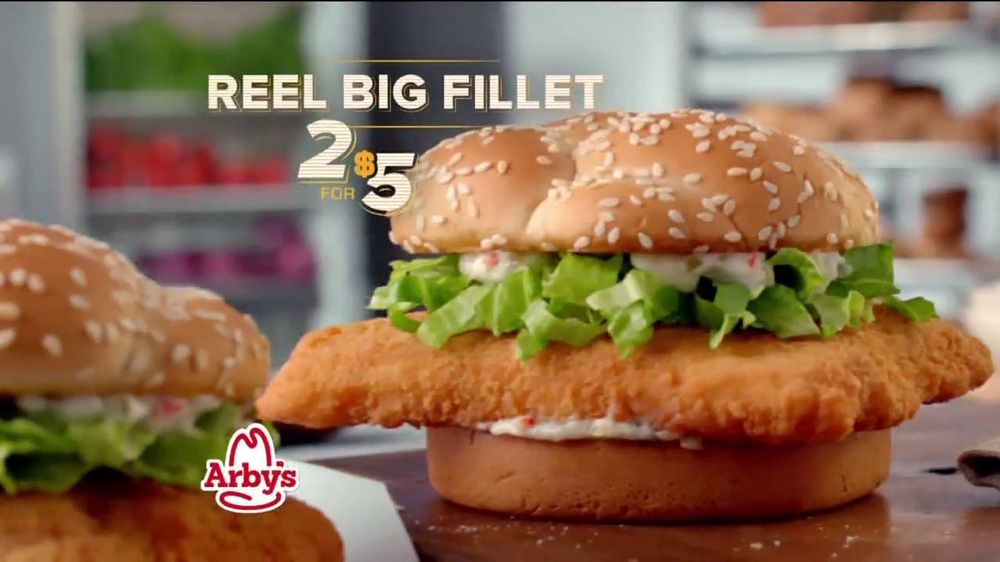 Arby's Reel Big Fillet TV Spot - Screenshot 8