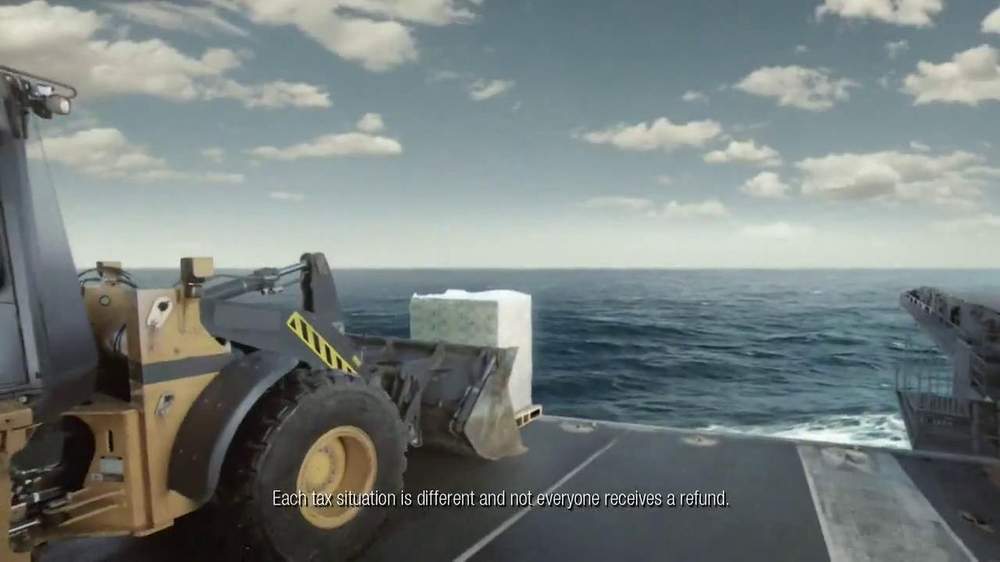 H&R Block TV Spot, 'Aircraft Carrier' - Screenshot 5