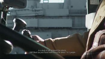 H&R Block TV Spot, 'Aircraft Carrier' - Thumbnail 7