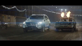 2014 Mercedes-Benz M-Class TV Spot, 'Demolition Derby'