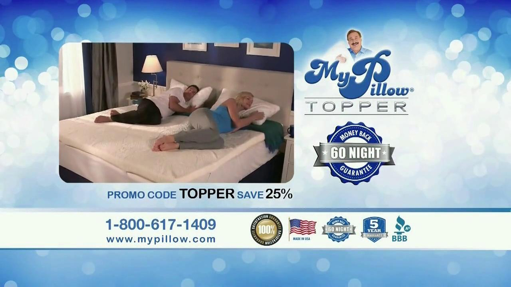 My Pillow Topper TV Spot 'Hot and Cold' - Screenshot 9