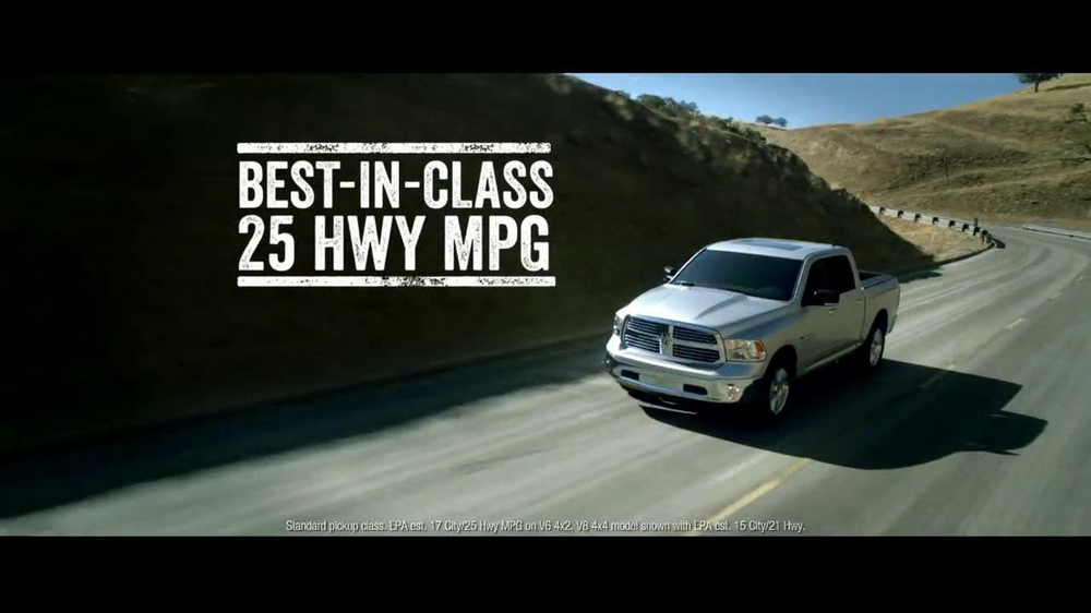 2014 Ram 1500 TV Spot, 'Truck of the Year' - Screenshot 4