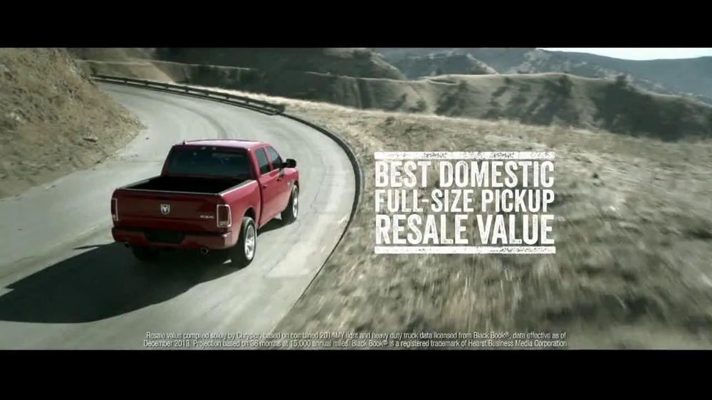 2014 Ram 1500 TV Spot, 'Truck of the Year' - Screenshot 6