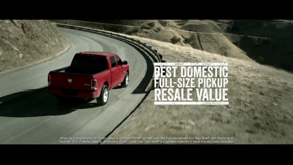 2014 Ram 1500 TV Spot, 'Truck of the Year' - Screenshot 7