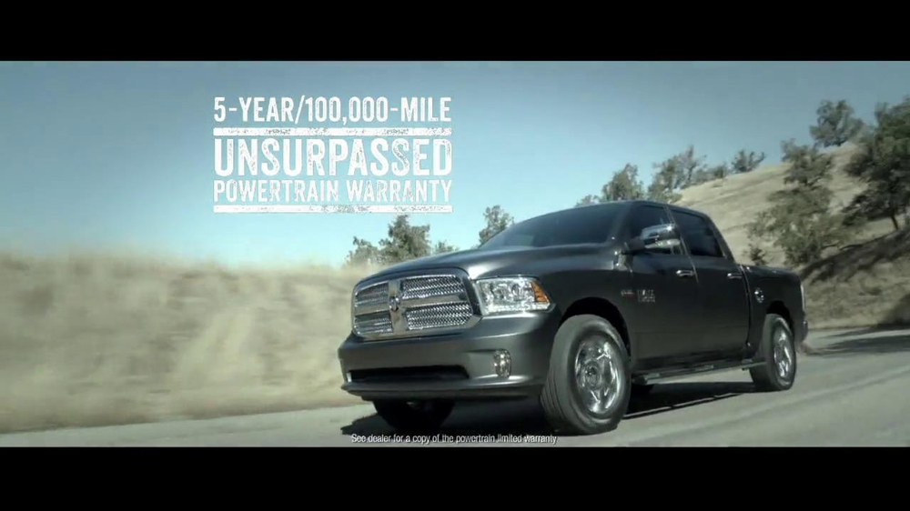 2014 Ram 1500 TV Spot, 'Truck of the Year' - Screenshot 8
