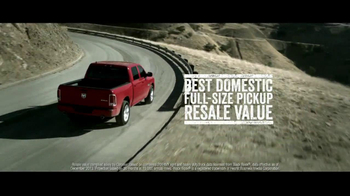 2014 Ram 1500 TV Spot, 'Truck of the Year' - Thumbnail 7