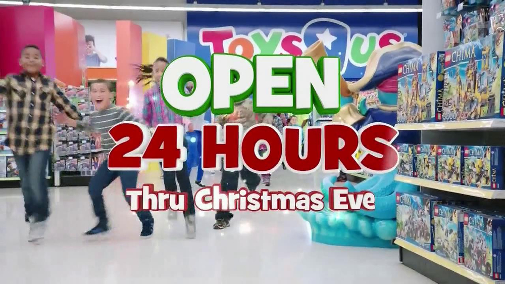 Toys R Us Christmas : Toys r us tv commercial open hours thru christmas eve